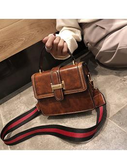 Vintages Flap Hasp Square Cross Shoulder Bag