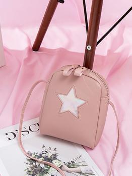 New Arrival Star Printed Mini Cheap Shoulder Bags