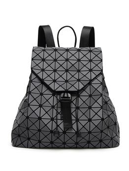 Fashion Matte Rhombus Geometry Package For Women