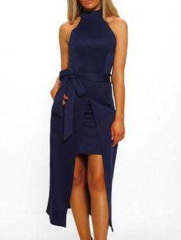 Wholesale 7 Off Shoulder Asymmetrical Bow Bodycon Dress