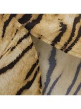 Fall Animal Print Spread Neck Wholesale Blouse