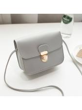 Korean Design Solid Versatile Hasp Shoulder Bag