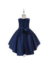 Beautiful Sequined Tassels Binding Bow Girls Party Dresses