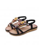 Bohemian Beaded Vintage Beach Cozy Sandals