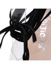 Simple Design PVC Strappy Clear Pumps