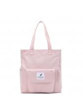Simple Design Zipper Shopping Tote Bags