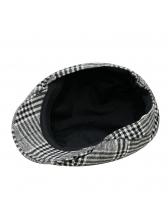 Wholesale 7 Plaid Beret Cap