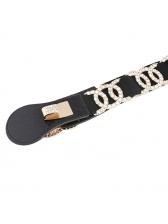 Rhinestone Design Easy Matching Waist Belt