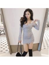 Off Shoulder Patchwork Lace Bodycon Dress