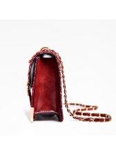 Hot Sale Plaid Chain Shoulder Bag For Women