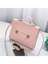 Korean Hot Sale Flap Square Shoulder Bag