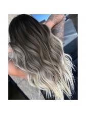 Middle Part Ombre Color Long Wave Wholesale Synthetic Wigs