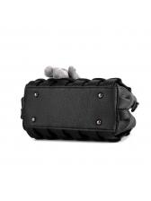 Large Capacity Cross Belt Solid Pendant Handbag
