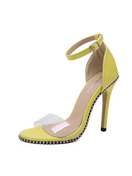 Stylish Rivet Ankle-Straps Woman Sandals