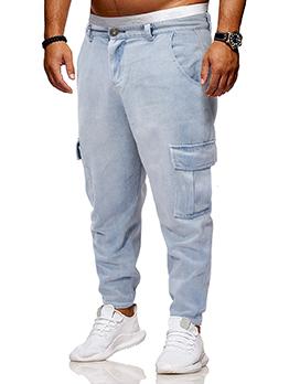 Casual Denim Harem Pants For Men