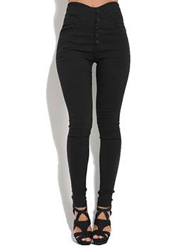 Simple Design High Waist Matching Long Leggings