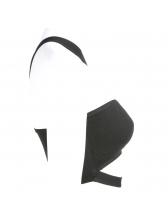 Sexy Boat Neck Asymmetrical Black Crop Camisole