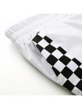 Euro Leopard Printed Binding Khaki Pants
