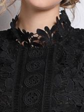 Hollow Out Lace Patchwork Wholesale Evening Dresses