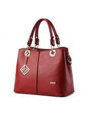 Korean Metal Patchwork Handbag For Women