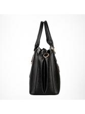 Simple Style Large Capacity Handbag For Women