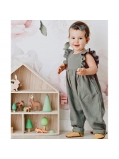 Stringy Selvedge Casual Baby Jumpsuits