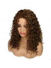 Long Afro Curly Shaggy High Temperature FiberWig