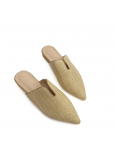 Casual Pointed Pointed Mules Slippers