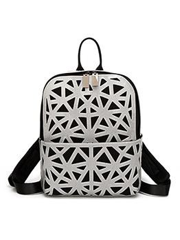New Arrival Geometric Printed Travel Backpack