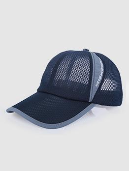 Casual Gauze Outdoor Unisex Baseball Cap