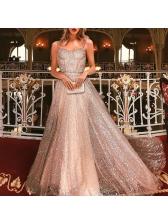 Glitter Sleeveless Elegant Evening Dresses