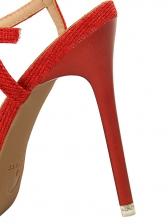 Korean Design Diamond Ankle-Straps Pumps