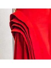 New Superposed Lotus Leaf Edge Midi Skirt