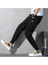Fashion Casual Loose With Pockets Long Pants