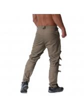 Zipper Metallic Buckle Solid Trendy Long Pants