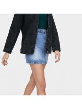 Fashion Hot Sale Design Denim A-Line Skirt