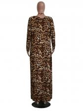 Sexy Leopard Print Bikini Sets With Long Coat