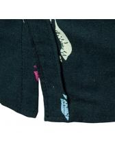 Casual Turndown Neck Printing Short Sleeve Shirt