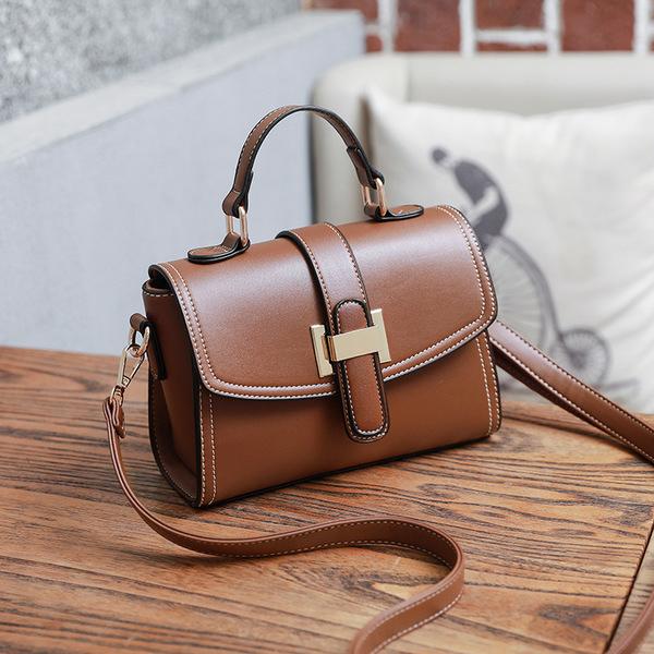 Vintage Flap Hasp Threading Shoulder Handbags