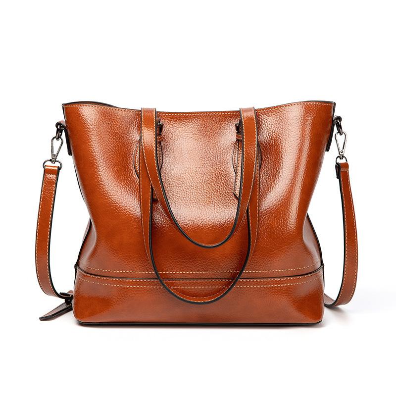 Large Capacity Solid Handbag For Women