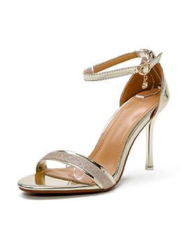 Minimalist A-Buckle Belt Wholesale Womens Sandals