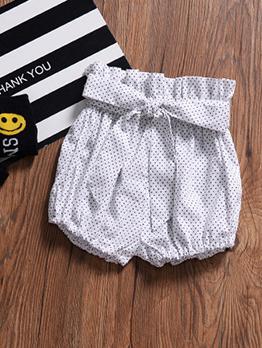 Cute Dot Lantern Short Pants For Girls