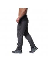 Metal Zipper Buckle Fashionable Long Pants