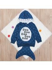 Dot Animal Design Fashionable Hoodies For Kids