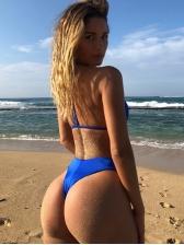Euro Hot Sale Solid Bikini Sets For Women