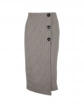 Elegant Houndstooth Skirts For Women