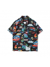 Hot Sale Cars Printed Funny Shirt For Men