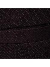 Solid Single-Breasted V Neck Man Waistcoat