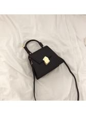 Fashion Irregular Trapezoidal Colorblock Crossbody Bag