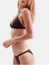 Sexy Contrast Color Womens Bikinis